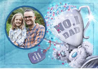 Tatty Teddy No. 1 Dad Father's Day Card
