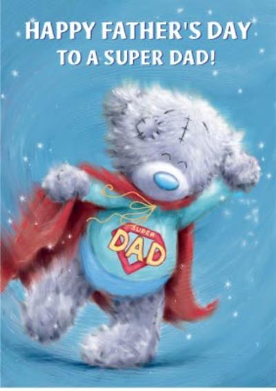 Tatty Teddy Superhero Father's Day Card