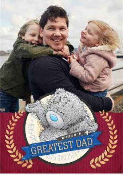 Tatty Teddy Greatest Dad Father's Day Card
