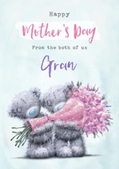 Tatty Teddy Happy Mother's Day Gran From The Both Of Us Card