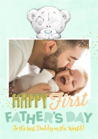 Tatty Teddy To The Best Daddy Happy First Father's Day Photo Card