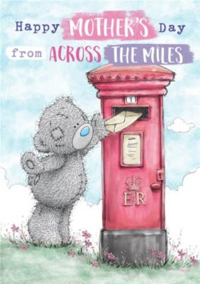 Me To You Tatty Teddy Across The Miles Mother's Day Card