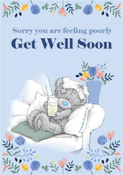 Me To You Tatty Teddy Get Well Card