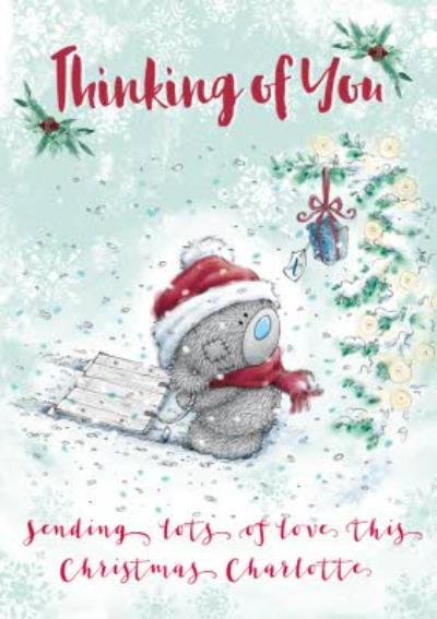 Me To You Tatty Teddy Thinking Of You Isolation Christmas Card