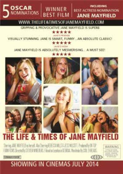The Life And Times Movie Poster Spoof Personalised Photo Upload Happy Birthday Card