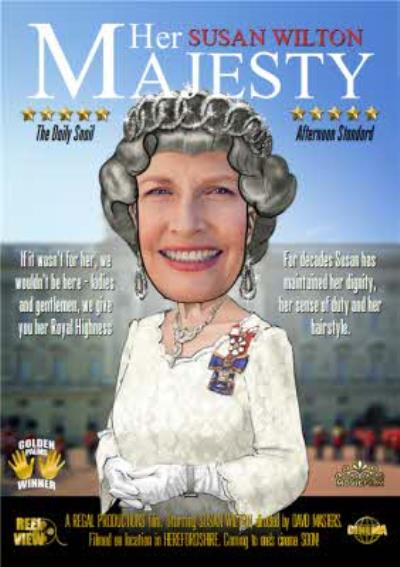 Her Majesty Character Personalised Photo Upload Card