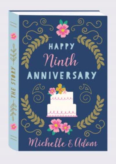 Natalie Alex Designs Cute Story Book Anniversary Card