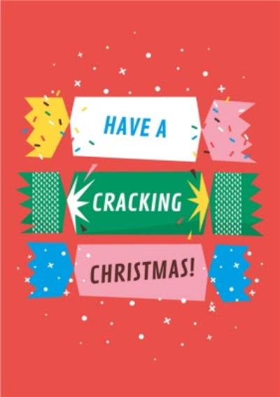 Have A Cracking Christmas Cute Card