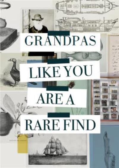 Natural History Museum Grandpas Like You Are Rare To Find Card
