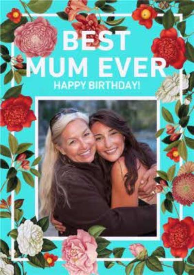 Natural History Museum Best Mum Ever Photo Upload Birthday Card