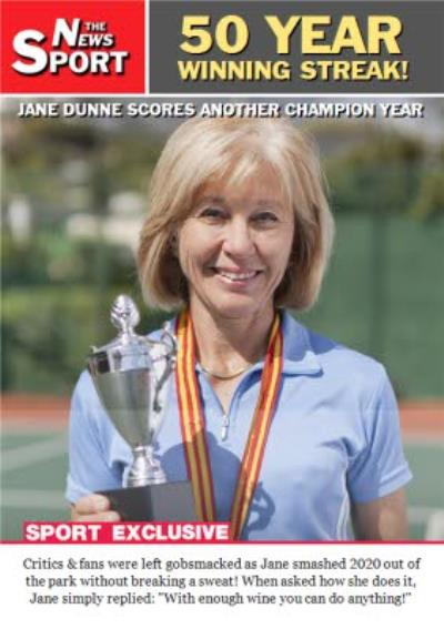 The News Sport Everyday 50 Year Winning Streak Photo Upload Birthday Card