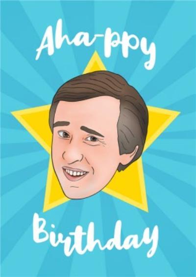A Happy Birthday Spoof Illustration Card