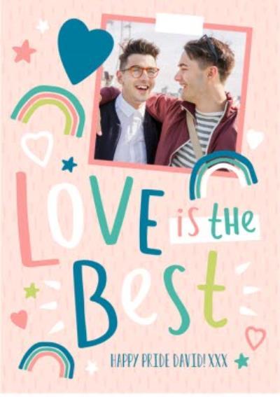 Pride greetings card