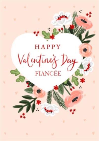 Okey Dokey Happy Valentine's Day Fiancee Card