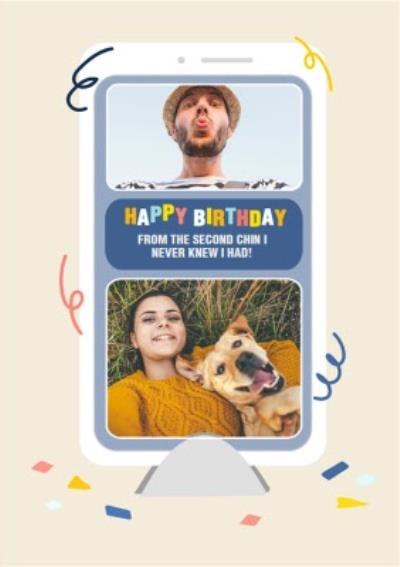 Topical Isolation Facetime Photo Upload Birthday Card