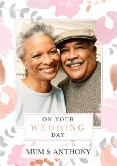 Wedding Card - On Your Wedding Day - Mum And Step Dad - Photo Upload