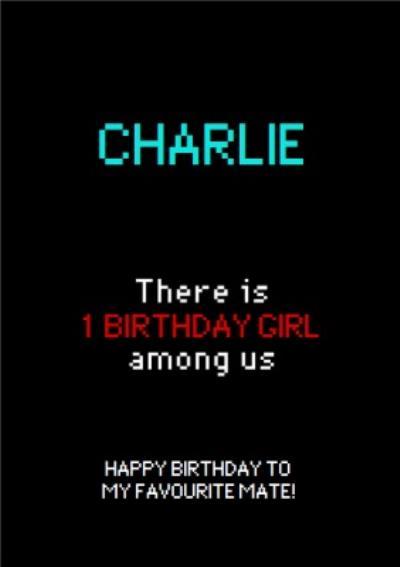 Happy Birthday To My Favourite Mate Digital Birthday Card