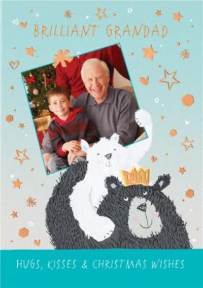 Brilliant Grandad Photo Upload Christmas Card