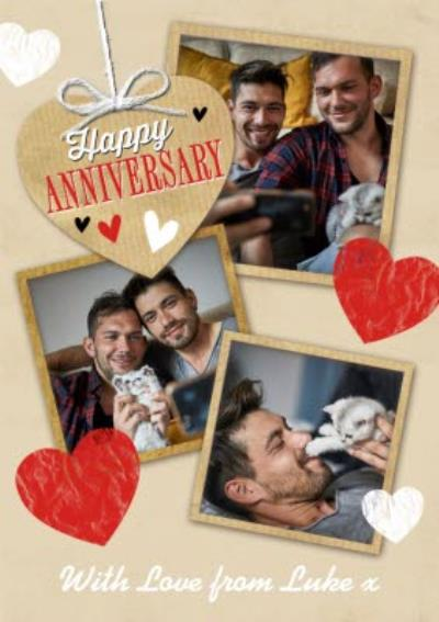 Anniversary Card - Photo Upload Card