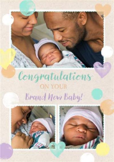 New Baby Photo Upload Card