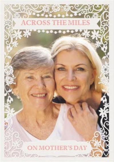 Paper Frames Across The Miles On Mothers Day Photo Upload Mothers Day Card