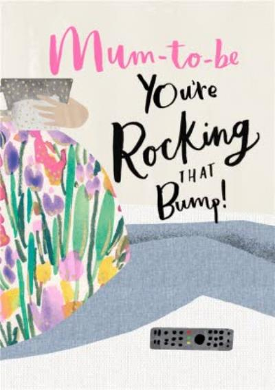 Pigment Hey Girl Mum To Be Rocking That Bump Pregnant Pregnacy Friendship Card