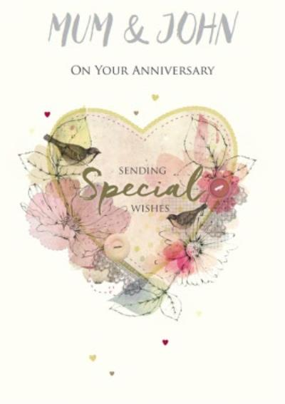 Anniversary Card On your Anniversary sending special wishes