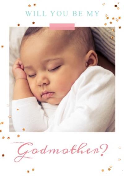 Photo upload card - New baby - Godmother
