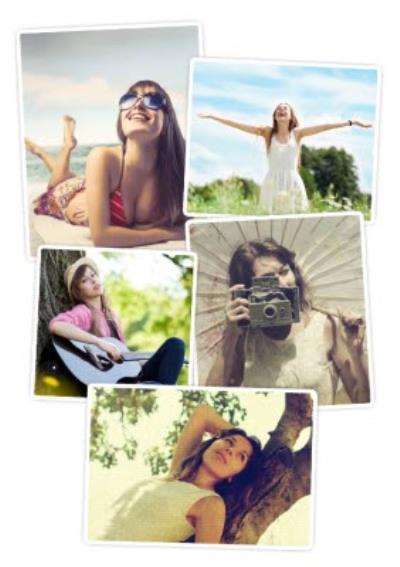 Multiple Photo Card - Use 5 Photos