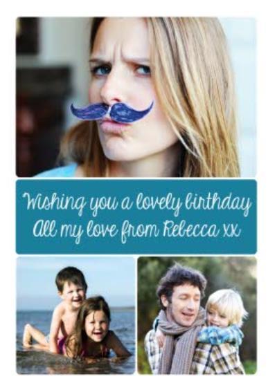 Photo Upload Birthday Card