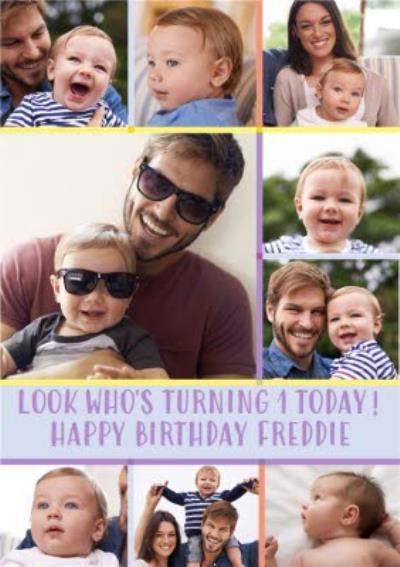 1 Today Multi Photo Upload Birthday Card