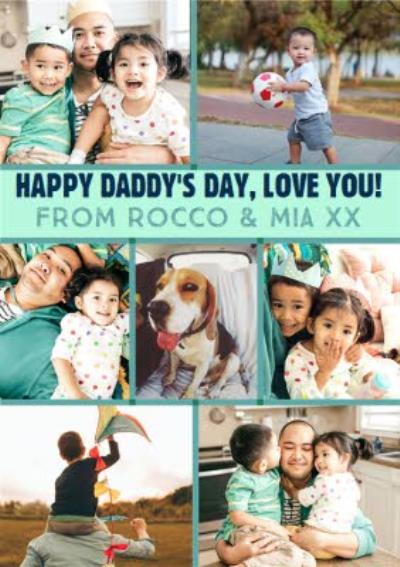 Happy Daddy's Day Photo Upload Father's Day Card