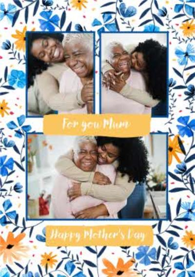 For You Mum Happy Mothers Day Photo Upload Mothers Day Card
