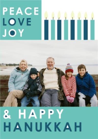 Hanukkah Card - Happy Hanukkah - Jewish Celebrations - Photo Upload