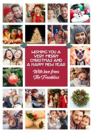 Multi Photo upload Christmas Card