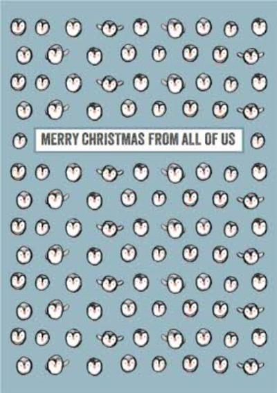 From All Of Us Penguin Christmas Card