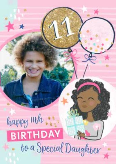 To A Special Daughter Photo Upload Birthday Card