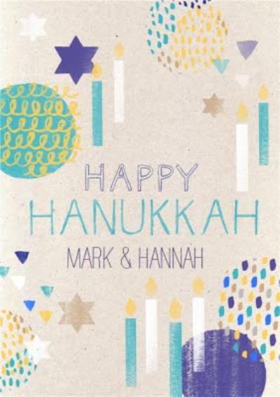Personalised Hanukkah Card