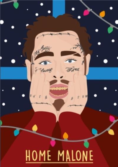 Home Malone Christmas Card