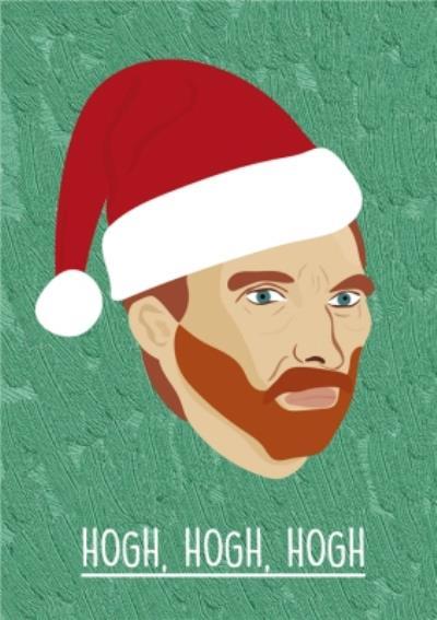 Hogh Hogh Hogh Christmas Card