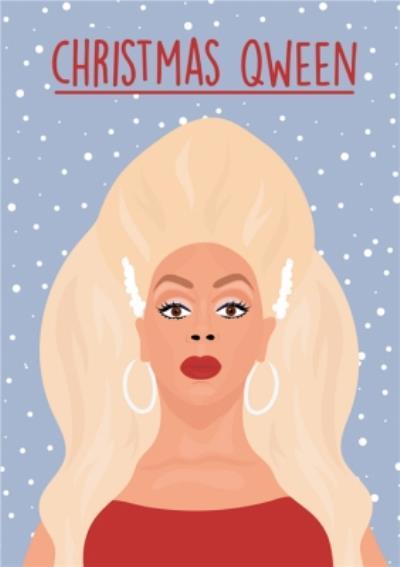 Christmas Qween Card