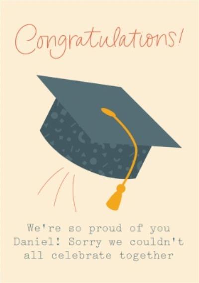 Graduation Cap Celebration Card