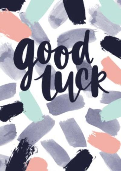 Abstract Good Luck Card
