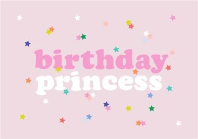 Shake It Up Birthday Princess Card