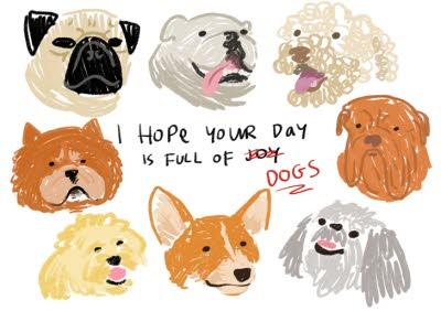 Dog Birthday Cards