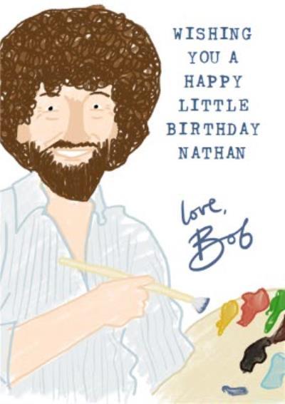 Happy little birthday card