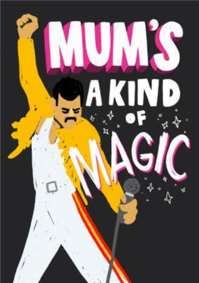 Mum's A Kind Of MAGIC Mother's Day Card