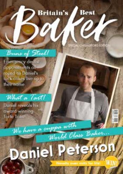 Britain's Best Baker Spoof Magazine Personalised Photo Upload Birthday Card