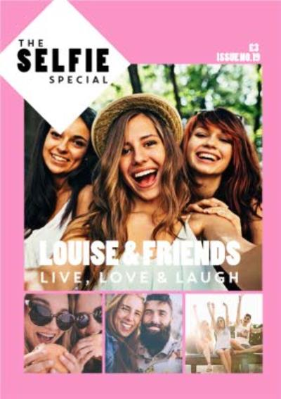 Selfie Special Cover Photo Upload Card