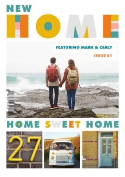New Home magazine spoof card - photo upload